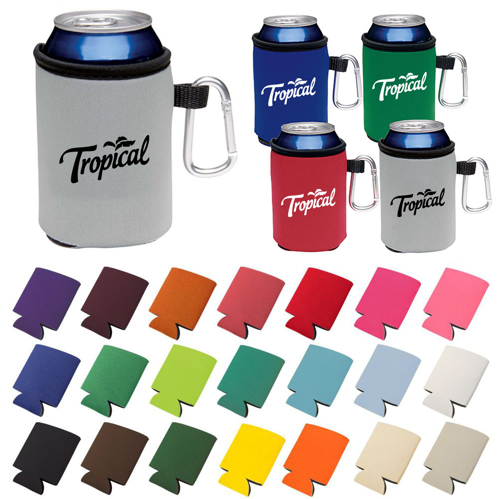 Can Cooler W/ Carabiner