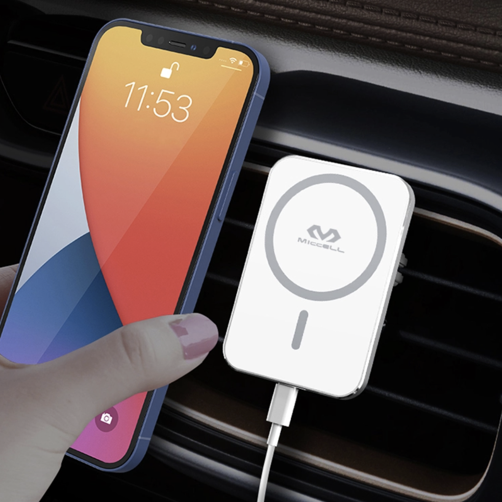 MagSafe Wireless Magnetic Car Mount Charger Qi 15W