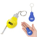 Bulb Shaped Measuring Tape Keychain