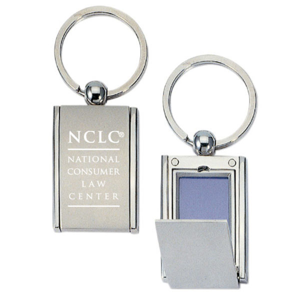 Engraved Photo Frame Keychain