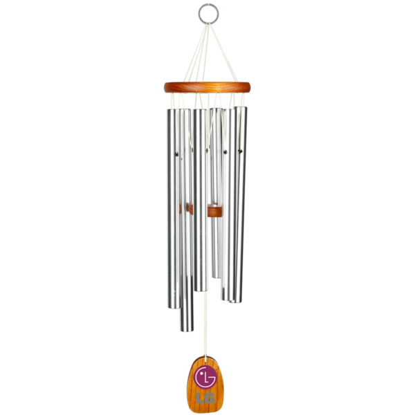 Gregorian Wood And Aluminum Wind Chime