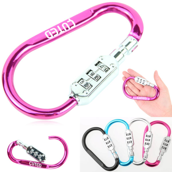 Metal Carabiner Digital Padlock