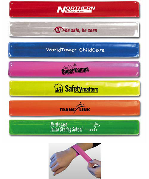 Reflective Safety Slap Wristband