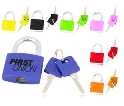 [PL3531] Mini Lockout Padlock With 2 Keys