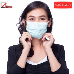 [CV2222] ASTM Level 2 FDA 3-Ply Surgical Mask