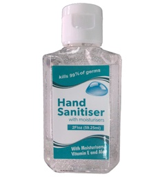 [CV1679] USA STOCK Hand Sanitizer Gel Bottle - 60%-65% Alcohol Antibacterial - 2 Oz