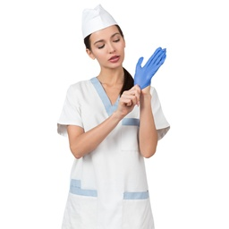 [NTR100] Powder-Free Nitrile Gloves  - PACK OF 100 - FDA Certified
