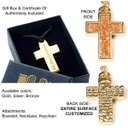 Handmade Jewellery - Jerusalem Holy Soil Embedded In Cross