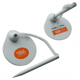 [DP3840] Reception Ballpoint Pen Stand W/ Retractable Cord