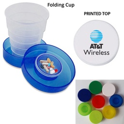 [CB1372] Collapsible Travel Cup Pill Holder